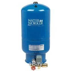 Water Worker 26 Gal Pressurized Well Tank Durable Steel Deep Drawn Direct Fit