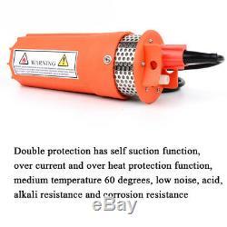 12v 24v DC Puits Profond Pompe À Eau Solaire / De La Batterie Pour L'irrigation Agricole Ranch