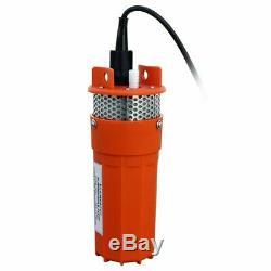 12v Submersible De Puits D'eau Profonde Solaire DC Pompe D'énergie Renouvelable À Énergie Solaire