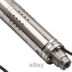 2 0.5hp 50m 370w Pompe Pour Puits Profond Pompa Sommersa 0.5hp Elettropompa Acciaio Inox