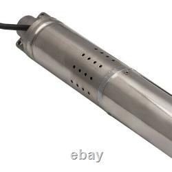 2 18l/min 0.5hp Thermopompe Électrique Submersible Eau De Puits Profond + Câble 15m