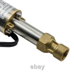 2 Orifices De Puits Profond Eau Submersible Pompe Électrique Acier Inoxydable 18l/min