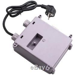 230v 39m Puits Profond Pompe À Eau En Acier Inoxydable Réservoir 3800 L / H 370w & Cable 2850rpm