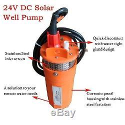 24v DC Submersible Profonde Solaire Pompe De Puits D'eau Solaire Use Alternative D'énergie