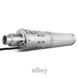24vdc 3m3 / H, 120m Lift Énergie Solaire Alésage Submersible Trou Puits Profond Pompe À Eau