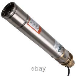 3 750w 2400l/h Deep Well Borehole Pump Submersible Water Pump 1hp 15 M Câble