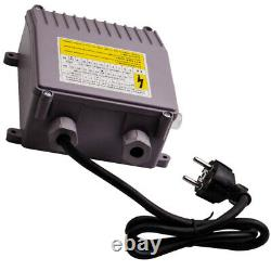 4 1.1kw Forage Deep Well Water Submersible Electric Pump + 20m Cable Head 54m