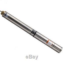 4 102 MM Pompa Sommersa 1.5hp Elettropompa Acciaio Inox 1000w 102m Par Pozzi