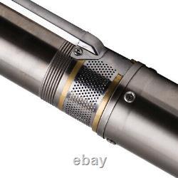 4 1100w Puits Profond Pompe Submersible Eau 10800 L / H + 20 M De Câble Max. Head 54 M