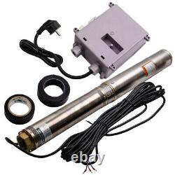 4 Pollici Pompa Per Pozzi Profondi Pompa Sommersa 10800 L/h 1100w Acciaio Inox