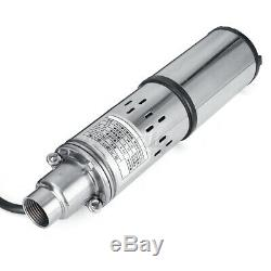 40m 250w 24v 3m³ / H En Acier Inoxydable Solaire Submersible Eau De Puits Profond Power Pump