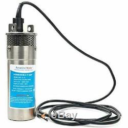 Amarine Faite 12v Inoxydable Shell Submersible 3.2gpm 10a Puits Profond Eau Solaire DC