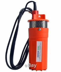 Amarine-made Farm & Ranch Submersible Profonde DC Batterie Solaire Pompe De Puits D'eau 24v