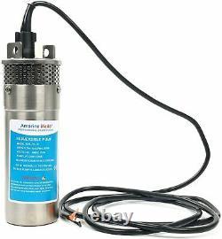 Batterie Solaire À Énergie Alternative Inoxydable 12v 10a 3.2gpm, Pompe À Eau Deep Well