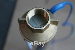 Brand New Submersible Puits Profond Pompe À Eau 2 Sortie En Laiton HP 220 V 1 1/4