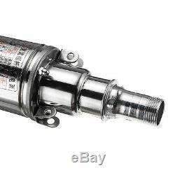 DC 12v / 24v 180w 25m 3m³ / H Pompe Haute Puissance Submersible Eau De Puits Profond Câble Pompe