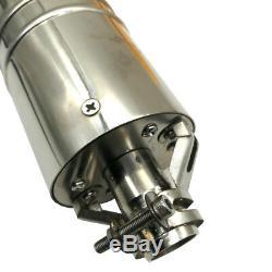 DC 12v Brushless Solaire Puits Profond Pompe Submersible Eau 110w, En Acier Inoxydable