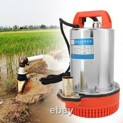 DC 12v Submersible Deep Well Water Pump Irrigation Water Pump 280w 3200rpm/min
