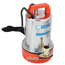 DC 12v Submersible Deep Well Water Pump Irrigation Water Pump Hg Accueil