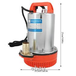 DC 12v Submersible Deep Well Water Pump Pompe À Eau D'irrigation Nouveau