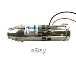 DC 24v Pompe Brushless Eau Solaire 5m3 / H 10m Tête Submersible Pompe Pour Puits Profond