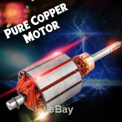 Dc12v 1.2m³ / H 30m Max Lift Deep Well Inoxydable + D'acier De Fonte Submersible Pompe À Eau