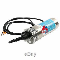 Dc24v Inoxydable Pompe Submersible De Puits Profond Shell Eau DC Pompe 24lpm / 6.4gpm