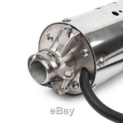 Énergie Solaire Pompe À Eau Submersible De Puits Profond Tool Kit Industrie Inoxydable