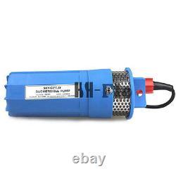 Hsh-flo Dc12v 360lph Solaire Mini Submersible Pompe Pour Puits Profond
