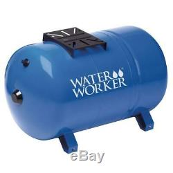 L'eau Travailleur Bien Réservoir 20 Gallons Horizontal Pressurized Acier Épais Shell Diaphragme