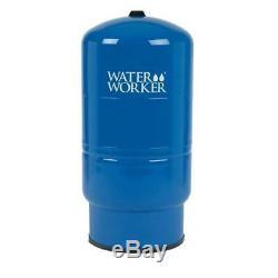L'eau Worker 26 Gal Pressurized Bien Réservoir En Acier Durable Emboutis Direct Fit