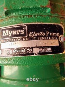 Myers Hj 33s Deep Well Water Convertible Ejectopump Livraison Gratuite