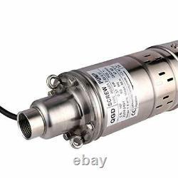Pompe À Eau Profonde Pompe Puits Submersible Deep Well Screw Pump Max Head