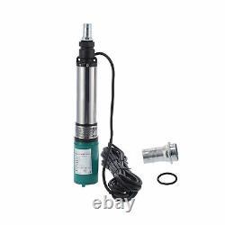 Pompe À Eau Solaire Deep Well Batterie Submersible Pompe Irrigation 4sydc24v Nouveau