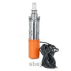Portable 260w 24v 1,2m3/h 50m Max Lift Eau Submersible De Puits Profond